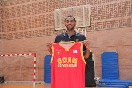 """Foto: Rojas (UCAM Murcia): """"Vengo a la segunda mejor liga del mundo"""" (UCAM MURCIA)"""