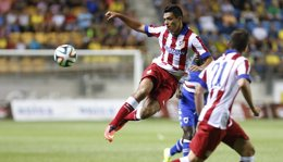 "Foto: Raúl Jiménez: ""Me siento enamorado del Atlético"" (ATLÉTICO MADRID)"