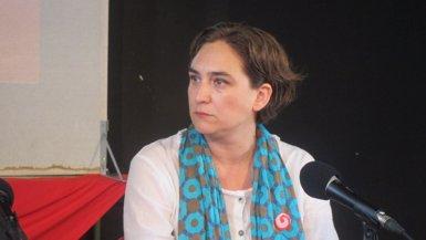 "Foto: Colau defensa posar urnes ""de manera 'gandhiana' i massiva"" (EUROPA PRESS)"