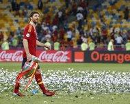 El futbolista español Xabi Alonso