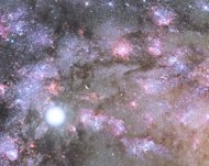 Galaxia en formación