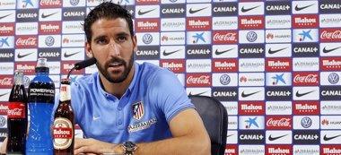 """Foto: Raúl García: """"Hay rivales fáciles, pero cualquiera te puede complicar"""" (ATLÉTICO MADRID)"""