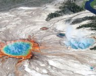 Volcán en Yellowstone