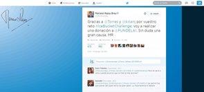 Foto: Rajoy donará dinero a afectados por ELA tras ser retado por el futbolista Fernando Torres (TWITTER)