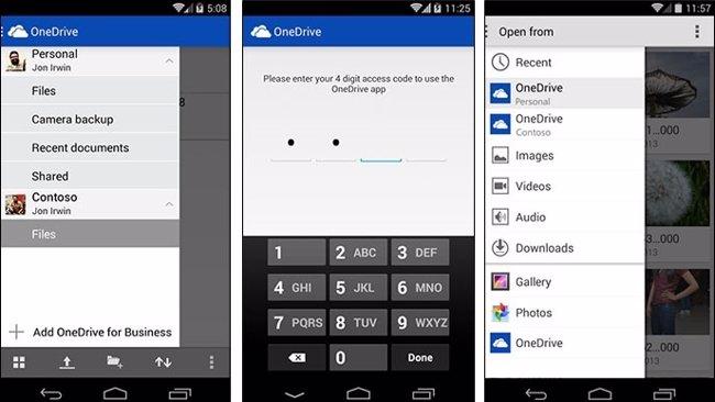 Foto: OneDrive actualiza sus aplicaciones para Android e iOS (MICROSOFT )