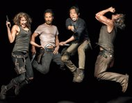 Protagonistas de The Walking Dead