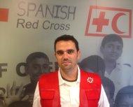 Kevin García, voluntario de Cruz Roja