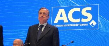 Foto: ACS eleva un 10,7% su beneficio a junio, hasta 95 millones (EUROPA PRESS)