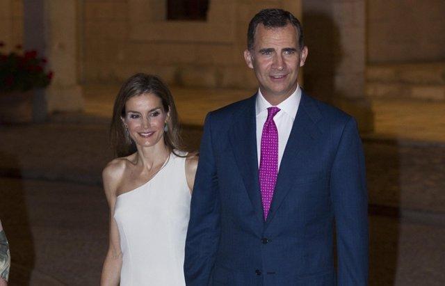 Foto: Los Reyes, de nuevo en Mallorca, para el concierto de Jaume Anglada (EUROPA PRESS)