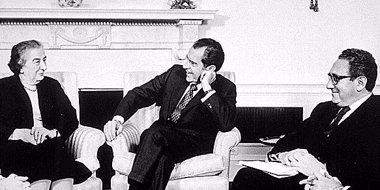 Foto: Nuevos documentos revelan que EEUU accedió en 1969 a reconocer en secreto a Israel como una potencia nuclear (CIA / FLICKR)