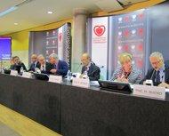 ESC: P.Meurin,G.Boriani,P.Ponikowski,M-Packer,F.Zannad,M.Imazio,M.Jessup,H.Bueno
