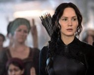 Jennifer Lawrence Es Katniss En  Sinsajo Parte 1