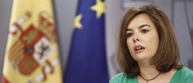 Foto: Economía.- Sáenz de Santamaría anuncia que el Gobierno lanzará este mes nuevas medidas para luchar contra el desempleo (EUROPA PRESS)
