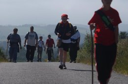 Foto: O número de peregrinos a Santiago aumenta en case 4.500 en agosto respecto a 2013 (EUROPA PRESS)