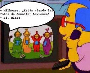 Humor en la red tras la filtración de las fotos de Jennifer Lawrence
