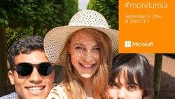 Foto: Microsoft avanza su 'selfie phone' Lumia 730 con un selfie, claro (CONVERSATIONS NOKIA)