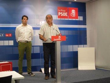 """Foto: El PSOE critica la """"incapacidad"""" del Gobierno municipal y apuesta por el diálogo """"contra el Logroño de dos velocidades"""" (EUROPA PRESS)"""