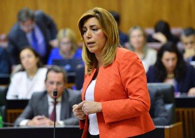 Foto: Susana Díaz quiere agotar la legislatura (EUROPA PRESS/JUNTA DE ANDALUCÍA)