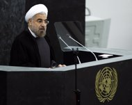 Hasán Rohani, presidente de Irán en la ONU