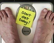 Comienza de dieta alimenticia