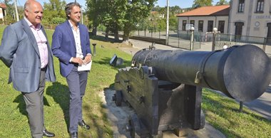 Foto: Un cañón fabricado en La Cavada lanzará la salva inaugural del Mundial (AYTO )