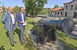 Foto: Un cañón del s. XVIII fabricado en La Cavada lanzará la salva que inaugurará el Mundial de Vela (AYTO )