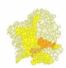 Foto: Galicia registra las temperaturas máximas en lo que va de año (METEOGALICIA)