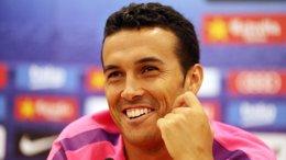 """Foto: Pedro: """"Siempre luchamos por conseguir la Champions"""" (MIGUEL RUIZ / FCB)"""