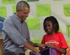 Una niña le dice a Obama que prefería conocer a Beyoncé