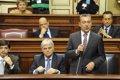 Foto: Rivero advierte al Estado de que Canarias acudirá a los tribunales contra la privatización de Aena (CEDIDA)