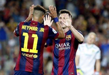 Foto: El Barça abre la Champions contra la cenicienta (GUSTAU NACARINO / REUTERS)