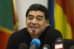 "Foto: Maradona: ""Di ventaja al resto con mi enfermedad"" (GIAMPIERO SPOSITO / REUTERS)"