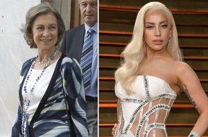Foto: EXCLUSIVA: Lady Gaga y la Reina Sofía coinciden en el mismo hotel en Grecia (EUROPA PRESS/GETTY)