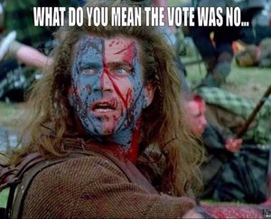 William Wallace no da crédito al resultado