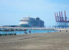 El Puerto de Málaga bajará un 40% las tasas a los cruceros que hagan escala o base en temporada baja