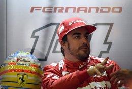 """Foto: Alonso: """"El coche de seguridad quizás nos quitó la segunda posición"""" (REUTERS)"""