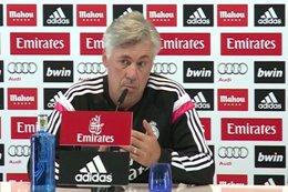 """Foto: Ancelotti: """"Si estamos unidos es más fácil luchar por los objetivos"""" (EUROPAPRESS)"""