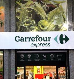 Foto: Economía/Empresas.- Carrefour descuenta el IVA a los jóvenes y suma este colectivo a jubilados y familias numerosas (CARREFOUR (LIONEL BARBE))