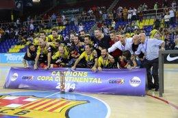 Foto: El Noia Freixenet, campeón de la Copa Continental (LUIS VELASCO)