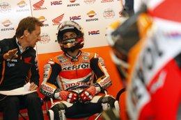"""Foto: Pedrosa: """"He decidido mal cuándo entrar en boxes para cambiar la moto"""" (JAIME OLIVARES-REPSOL GGPP 2014)"""