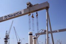 """Foto: A CEG ve """"preocupante"""" a decisión de Navantia de trasladar a construción do buque flotel (EUROPA PRESS)"""