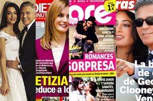 Foto: El amor de Leiva con Macarena García, la boda de Clooney y el dolor de Isabel Preysler (EUROPA PRESS)