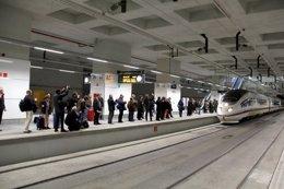 Foto: El AVE entre Girona y Figueres continúa interrumpido por tercer día consecutivo (EUROPA PRESS)