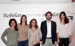 Foto: Blanca Marsillach, María Reyes y Conchita contra el dolor crónico (JOSEFINA BLANCO)