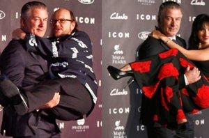 Foto: Alec Balwin, 'loco de amor' por España: Torrente 5 y su esposa Hilaria (EUROPA PRESS)
