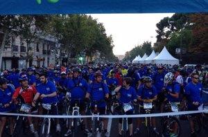 Foto: Madrid sitiada por las bicicletas en... ¡La Fiesta de la Bici! (FACEBOOK/LA FIESTADE LA BICI)