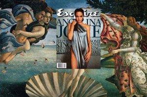 Foto: Arte y covers: las portadas de las celebs fusionadas con obras de arte (MAG+ART TUMBLR/EISEN BERNARDO)