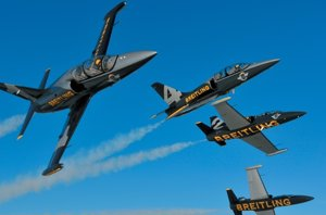 Foto: El Breitling Jet Team alza el vuelo en Madrid (BREITLING JET TEAM)