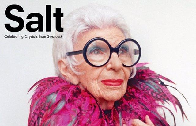 Foto: Iris Apfel, una it-girl a sus 93 años (SALT)