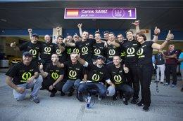 Foto: Carlos Sainz Jr., campeón de las World Series by Renault (ANTONIN GRENIER)